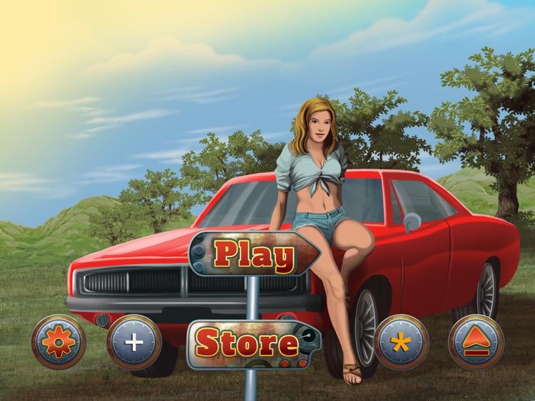 Illegal Moonshine Free: Stock car speed racing game