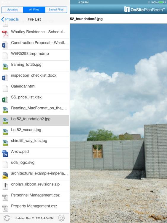 OnSite PlanRoom for iPad screenshot-3