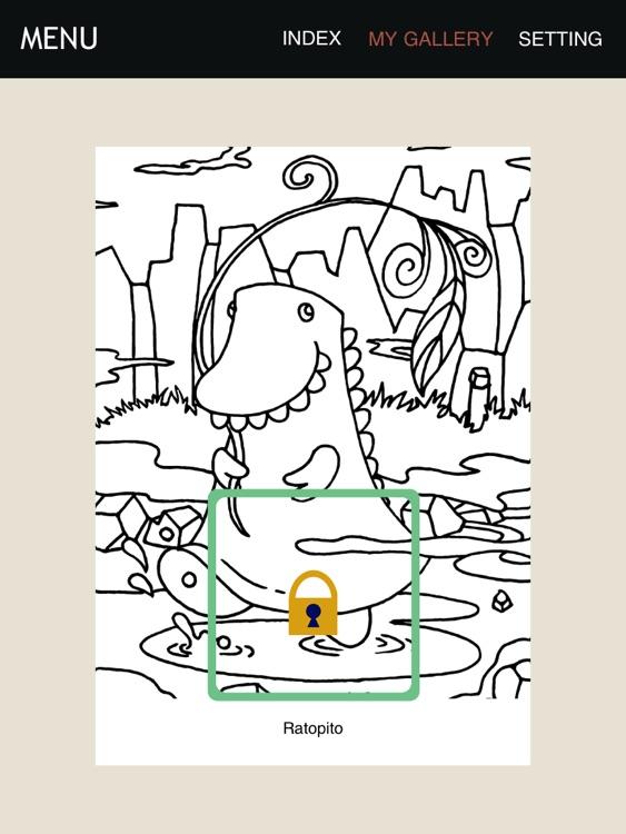 Cutie Monster Coloring Chapter 1 Lite screenshot-3