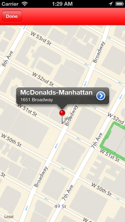 Find Nearest McDonalds screenshot-3