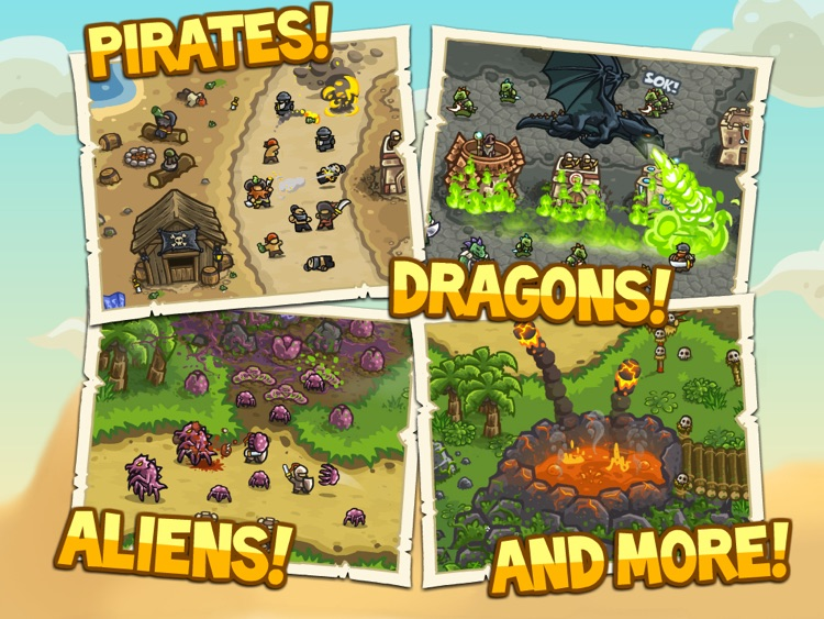 Kingdom Rush Frontiers HD screenshot-4