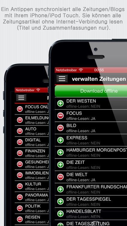 Deutsche Zeitungen - German Newspapers by sunflowerapps