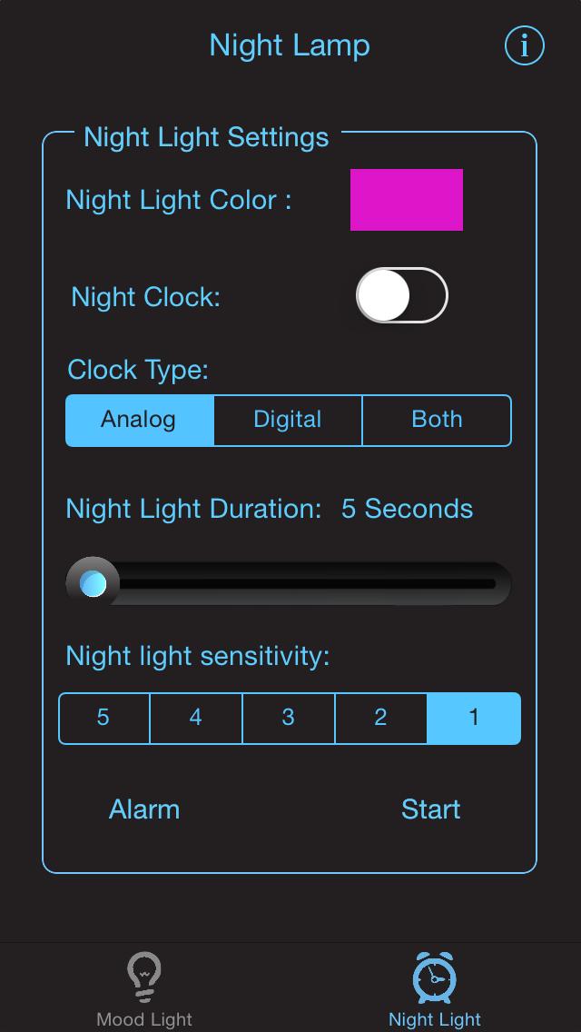 Night Light LITE - Mood Light with Music, NightLight with sound sensor, Time Display & Alarm Clockのおすすめ画像3