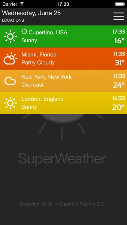 SuperWeather App Free screenshot-3