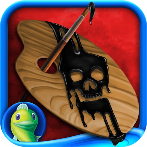 Dark Canvas: A Brush With Death HD - A Hidden Object Adventure icon