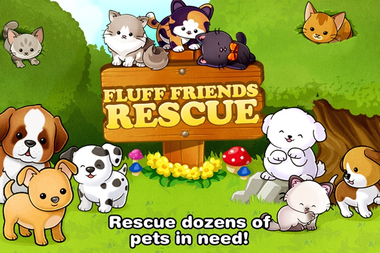Fluff Friends Rescue ™ screenshot-4