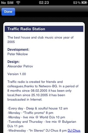 Traffic Radio Station on the App Store