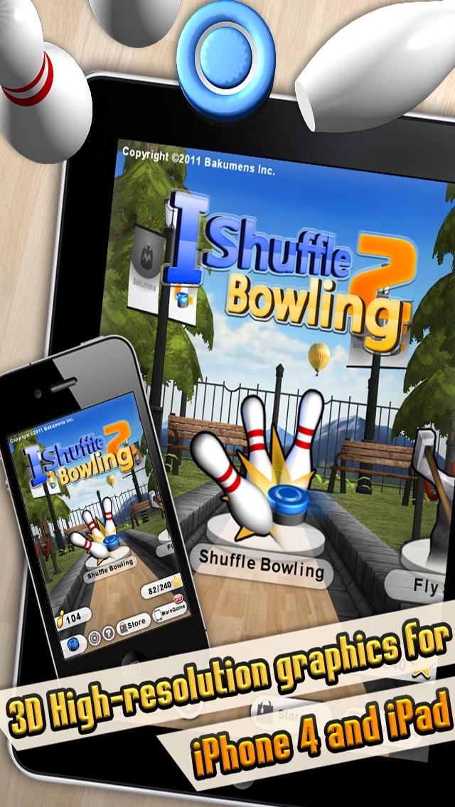 iShuffle Bowling 2 Screenshot on iOS