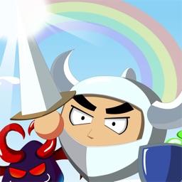 swordsman with the devil
