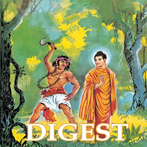 Buddha And Angulimala Double Digest - Amar Chitra Katha Comics