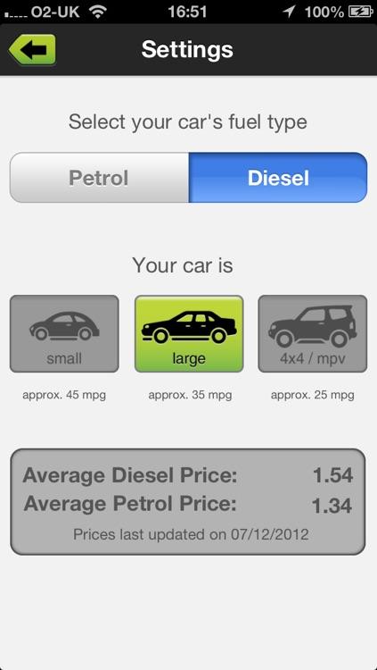 fuelmoney mileage calculator for petrol diesel cars by baff addae