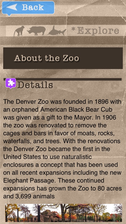 Zoo Explorer - Denver screenshot-2
