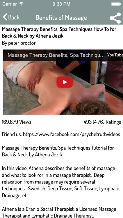 Massage Techniques - Best Learning Guide screenshot-3