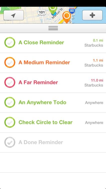 Nearly - Smart Location Reminders screenshot-3