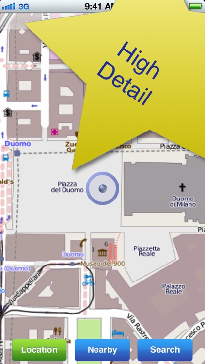 Milan No.1 Offline Map screenshot-0