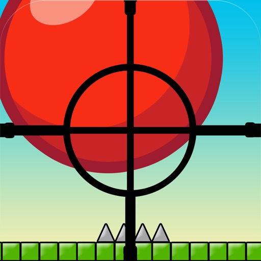 Bouncing Red-Ball Sniper Drop Game - The Top Fun Spikes Shooter Games For Teens Boys & Kids Free