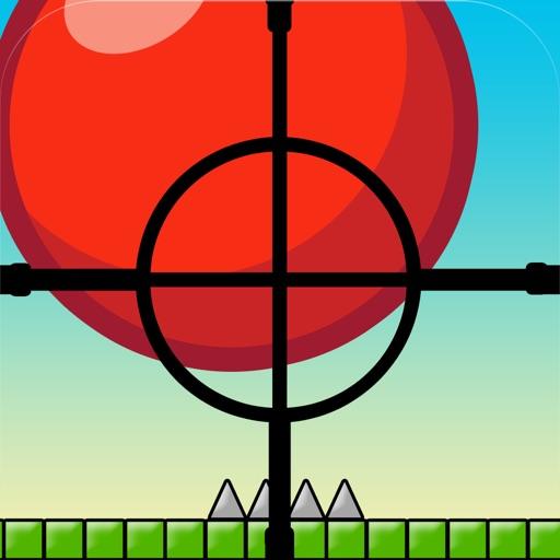 Отскок красный шар Снайпер Drop Game - Топ Fun Шипы Игры стрелялки для подростков мальчиков и детей бесплатно