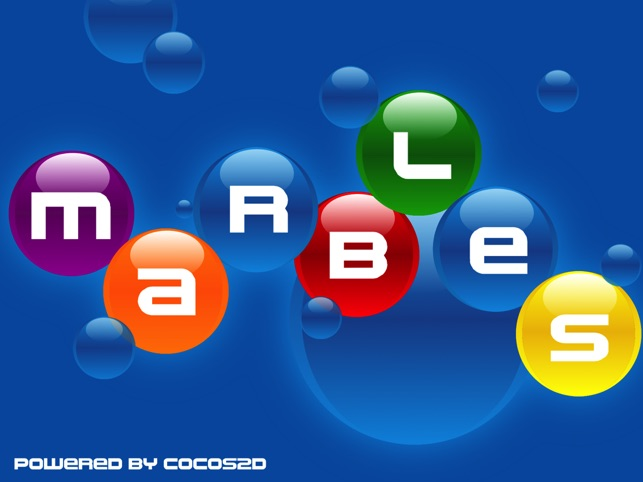 Marbles HD - relaxing puzzle logic game for children and adults on