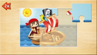 Spiele für Kleinkinder - Holz Puzzle für Jungen (6 Teile) 2+Screenshot von 4