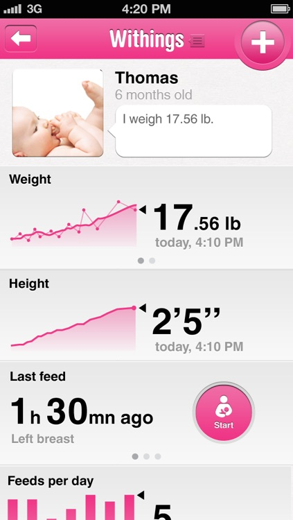Withings Baby Companion