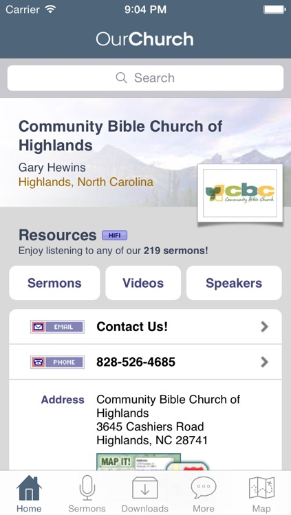 Community Bible Church of Highlands