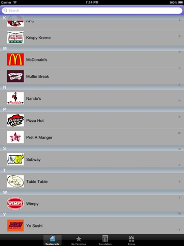 uk fast food nutrition points calories carbs plus calculator for