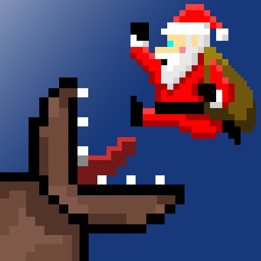 Super Mega Worm Vs Santa icon