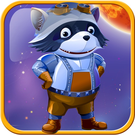 Raccoon Galaxy Race icon