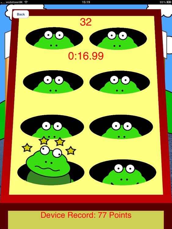 Bash The Frog HD - Tap Game screenshot-3