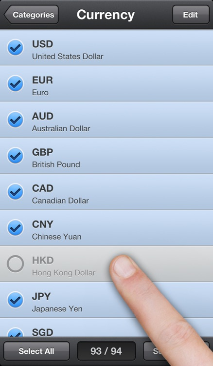 Converter Touch ~ Fastest Unit and Currency Converter screenshot-4
