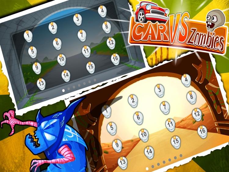 Car vs Zombies HD Free