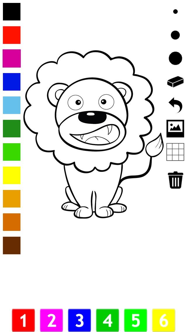 Libro para colorear del circo para los niños pequeños y los niños ...