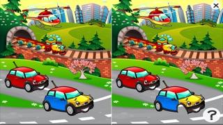 Auto-Lernspiel für Kindergarten, Vorschule und Schule: Spiele, Übungen, Puzzle und Lernen für Kinder von 2-5 und die Fahrzeuge der Stadt wie Autos, Zug, Flugzeug, Helikopter, Strassen und mehr kostenlos.Screenshot von 2