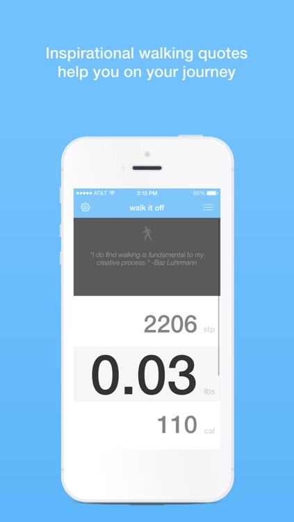 Walk It Off: A Pedometer for Weight Loss screenshot-4