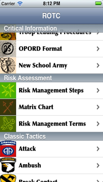 ROTC Reference screenshot-0