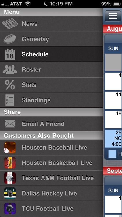Houston Football Live screenshot-3