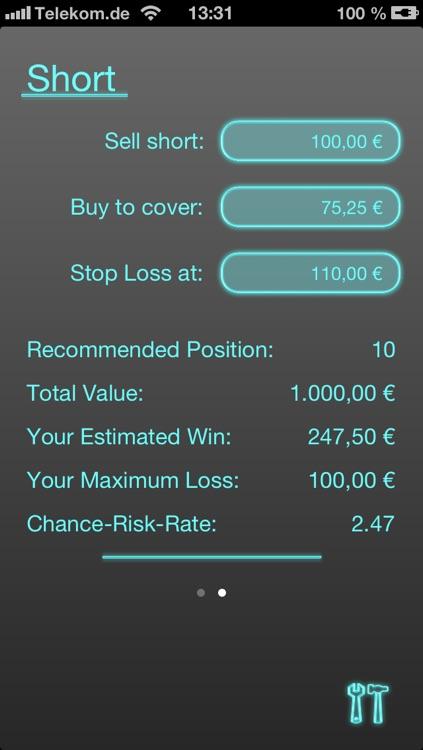 Risk Manager - Stocks
