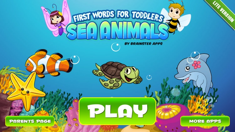 Toddlers First Words 3: Sea Animals Lite