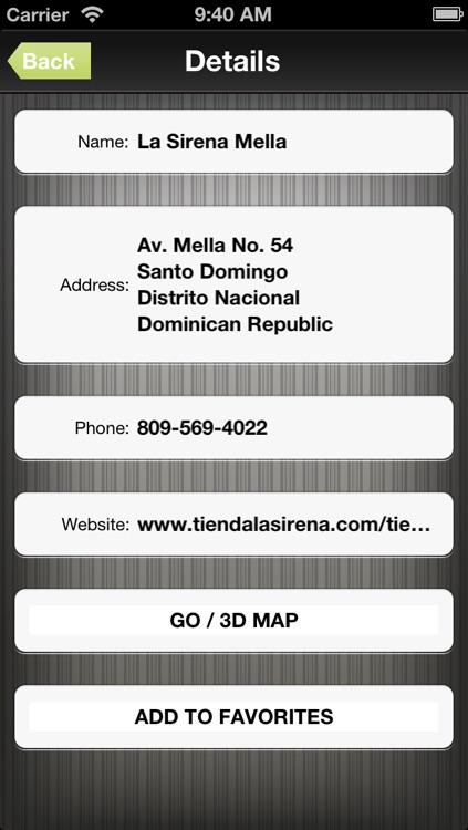 Dominican Republic GPS Map Navigator