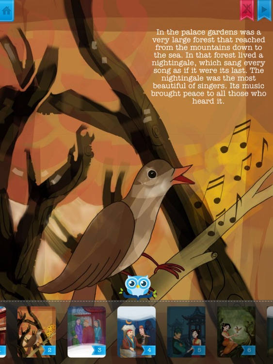The Nightingale - Have fun with Pickatale while learning how to read!