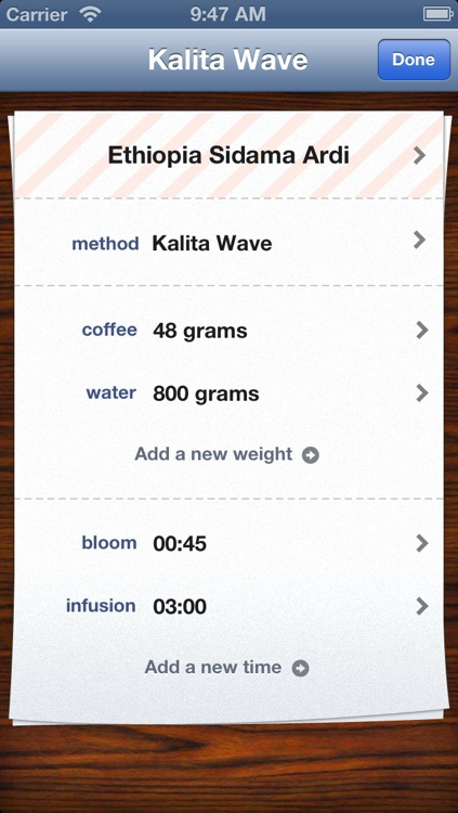 Bloom Coffee Timer
