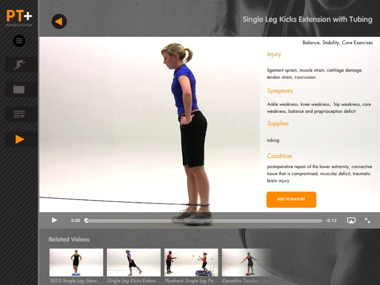 Physical Therapist Plus – Exercise Videos for Rehabilitation Professionals screenshot-3
