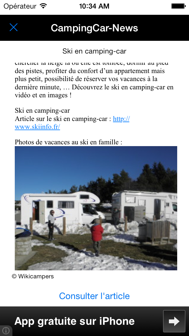 CampingCar News screenshot three