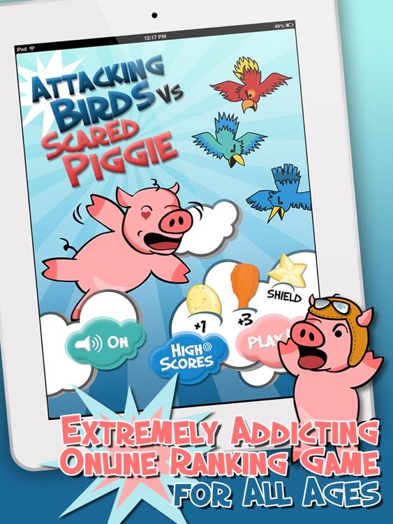 Attacking Birds vs Scared Piggies HD Free