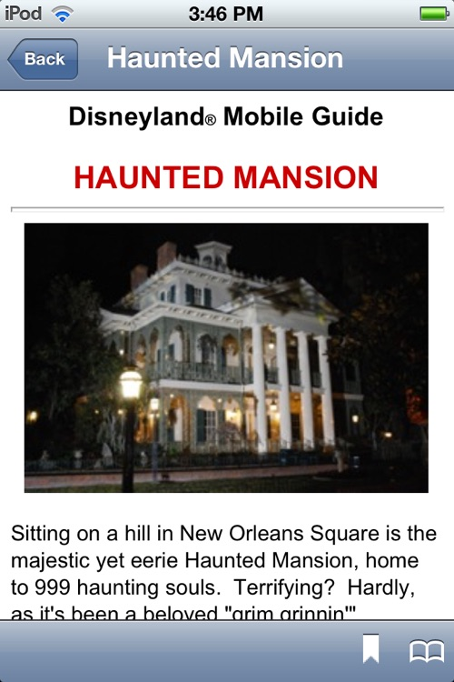 Disneyland Mobile Guide screenshot-4