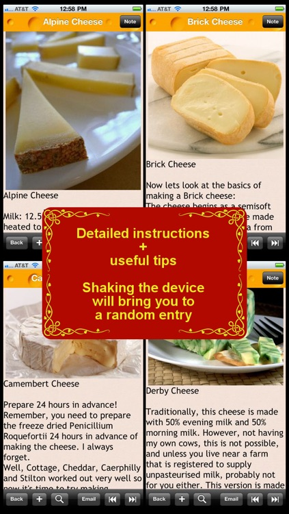 100 Homemade Cheese Recipes