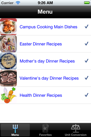 Dinner Recipes. screenshot one