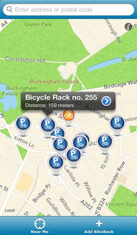 Bike Rack Locator