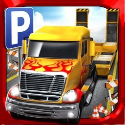 3D Construction Parking Simulator - Realistic Monster Truck Park Sim Run Games