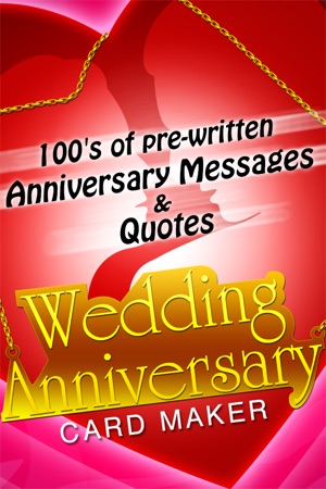 Wedding anniversary card maker send romantic happy marriage iphone screenshots m4hsunfo
